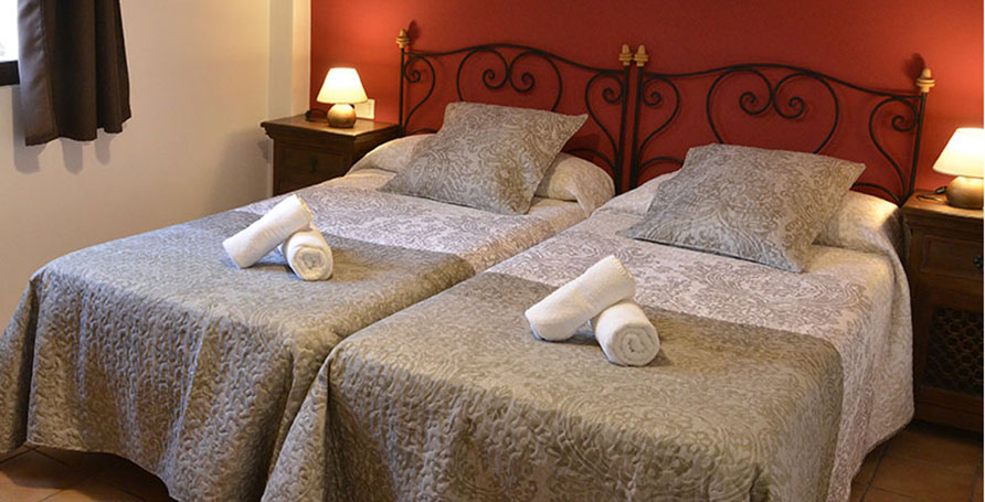 Cortijillo's bedroom